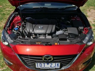 2014 Mazda 3 BM Neo Red 6 Speed Automatic Sedan