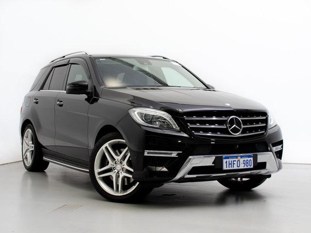 Used Mercedes-Benz ML500 166 MY14 4x4, 2014 Mercedes-Benz ML500 166 MY14 4x4 Black 7 Speed Automatic Wagon