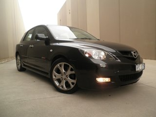2008 Mazda 3 BK1032 SP23 Black Mica 5 Speed Sports Automatic Hatchback.