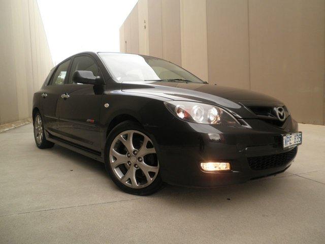Used Mazda 3 BK1032 SP23 Cheltenham, 2008 Mazda 3 BK1032 SP23 Black Mica 5 Speed Sports Automatic Hatchback