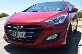2015 Hyundai i30 GD3 Series II MY16 Active Red 6 Speed Sports Automatic Hatchback.