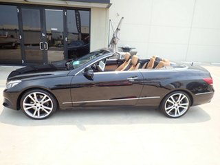 2013 Mercedes-Benz E250 207 MY13 Black Magic 7 Speed Automatic Cabriolet