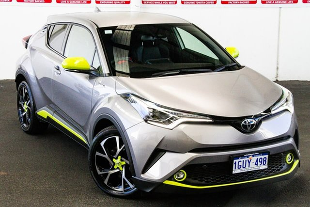 Pre-Owned Toyota C-HR NGX10R Koba S-CVT 2WD Rockingham, 2019 Toyota C-HR NGX10R Koba S-CVT 2WD Shadow Platinum 7 Speed Constant Variable Wagon