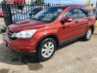 2011 Honda CR-V RE MY2011 Sport 4WD Red 6 Speed Manual Wagon