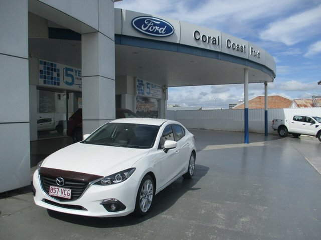 Used Mazda 3 BL Series 2 MY13 SP25 Bundaberg, 2014 Mazda 3 BL Series 2 MY13 SP25 White 5 Speed Automatic Sedan