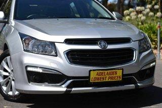 2015 Holden Cruze JH Series II MY15 SRi Silver 6 Speed Sports Automatic Hatchback