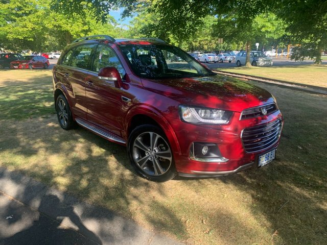 Used Holden Captiva CG MY17 LTZ AWD Launceston, 2016 Holden Captiva CG MY17 LTZ AWD Red 6 Speed Sports Automatic Wagon