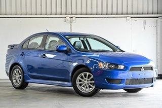 2012 Mitsubishi Lancer CJ MY12 ES Blue 6 Speed Constant Variable Sedan.