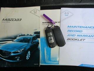 2014 Mazda 3 BL Series 2 MY13 SP25 White 5 Speed Automatic Sedan
