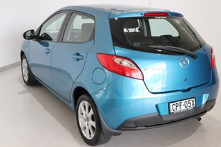 2013 Mazda 2 DE10Y2 MY13 Neo Blue 4 Speed Automatic Hatchback