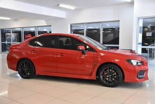 2018 Subaru WRX V1 MY18 Premium Lineartronic AWD Red 8 Speed Constant Variable Sedan.