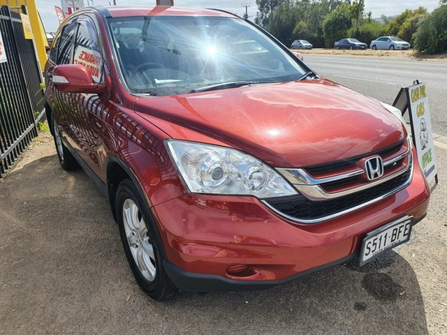 Used Honda CR-V RE MY2011 Sport 4WD Morphett Vale, 2011 Honda CR-V RE MY2011 Sport 4WD Red 6 Speed Manual Wagon
