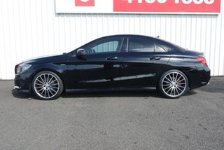 2015 Mercedes-Benz CLA250 117 MY15 4Matic Black 7 Speed Automatic Coupe.