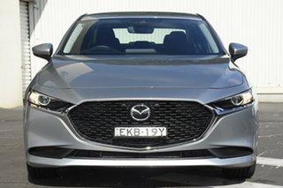 2020 Mazda 3 BP2S7A G20 SKYACTIV-Drive Evolve Silver 6 Speed Sports Automatic Sedan
