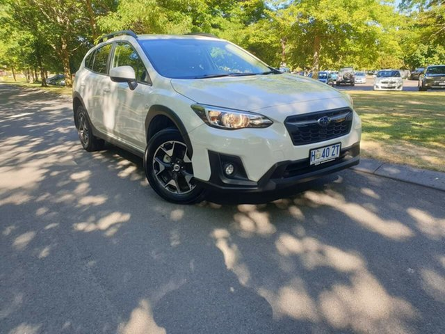 Used Subaru XV G5X MY19 2.0i Lineartronic AWD Launceston, 2019 Subaru XV G5X MY19 2.0i Lineartronic AWD Crystal White 7 Speed Constant Variable Wagon