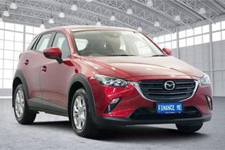 2018 Mazda CX-3 DK2W7A Maxx SKYACTIV-Drive FWD Sport Soul Red 6 Speed Sports Automatic Wagon.