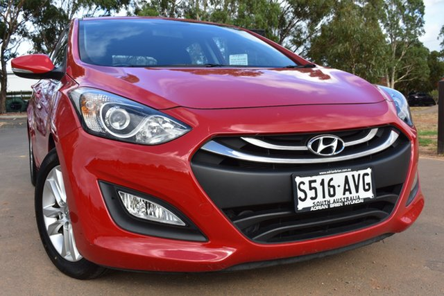 Used Hyundai i30 GD Elite St Marys, 2012 Hyundai i30 GD Elite Red 6 Speed Manual Hatchback