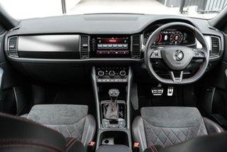 2020 Skoda Kodiaq NS MY20.5 RS DSG White 7 Speed Sports Automatic Dual Clutch Wagon.