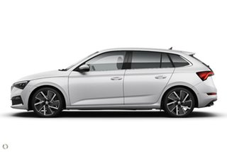 2020 Skoda Scala NW MY20.5 110TSI DSG Launch Edition White 7 Speed Sports Automatic Dual Clutch.