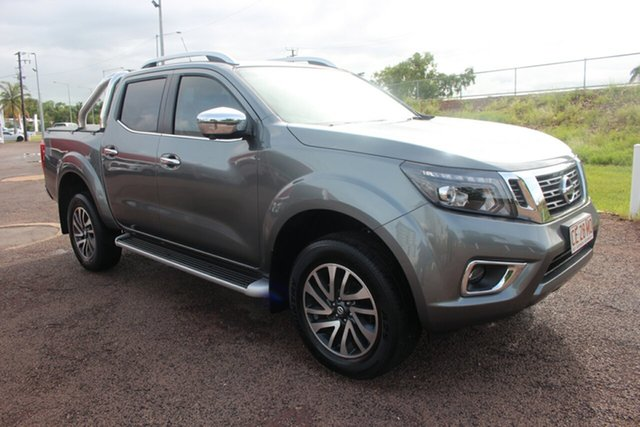 Pre-Owned Nissan Navara D23 S3 ST-X 4x2 Darwin, 2019 Nissan Navara D23 S3 ST-X 4x2 Mercury Grey 7 Speed 7 SP AUTOMATIC Dual Cab Pick-up
