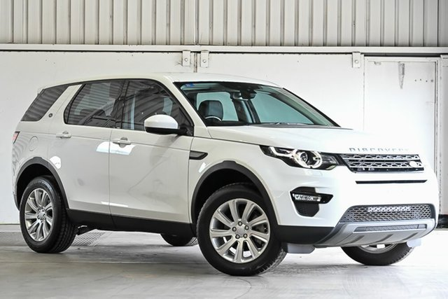 Used Land Rover Discovery Sport L550 16.5MY SE Laverton North, 2016 Land Rover Discovery Sport L550 16.5MY SE White 9 Speed Sports Automatic Wagon
