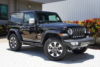 2020 Jeep Wrangler JL MY21 Overland Gloss Black 8 Speed Automatic Hardtop.