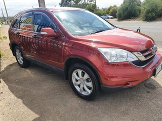 2011 Honda CR-V RE MY2011 Sport 4WD Red 6 Speed Manual Wagon.