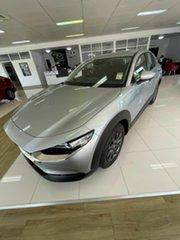 2020 Mazda CX-30 G20 Pure Silver 6 Speed Automatic Wagon.