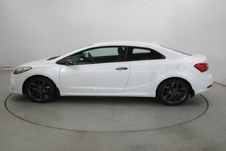 2014 Kia Cerato YD MY14 Koup Turbo White 6 Speed Manual Coupe