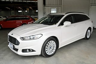 2015 Ford Mondeo MD Trend White 6 Speed Sports Automatic Dual Clutch Wagon