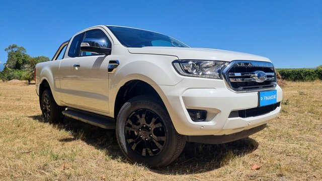 Used Ford Ranger PX MkIII 2019.00MY XLT Nuriootpa, 2018 Ford Ranger PX MkIII 2019.00MY XLT Cool White 6 Speed Sports Automatic Utility