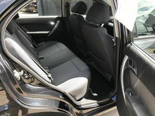 2010 Holden Barina TK MY10 Black 4 Speed Automatic Sedan
