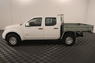 2014 Nissan Navara D40 S8 RX White 6 speed Manual Cab Chassis