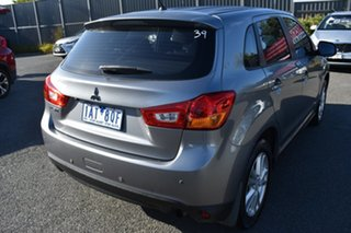 2013 Mitsubishi ASX XB MY13 2WD Grey 6 Speed Constant Variable Wagon.