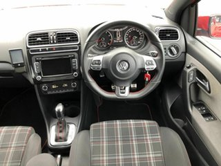 2013 Volkswagen Polo 6R MY13.5 GTI DSG Red 7 Speed Sports Automatic Dual Clutch Hatchback
