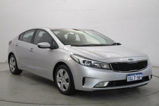 2018 Kia Cerato BD MY19 S Silver 6 Speed Sports Automatic Sedan