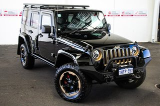 2014 Jeep Wrangler Unlimited JK MY13 Dragon (4x4) 5 Speed Automatic Softtop.
