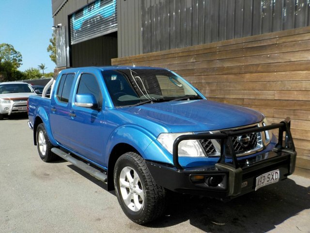 Used Nissan Navara D40 S6 MY12 ST Labrador, 2013 Nissan Navara D40 S6 MY12 ST Blue 6 Speed Manual Utility