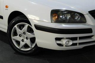 2004 Hyundai Elantra XD MY04 Silver 4 Speed Automatic Hatchback.