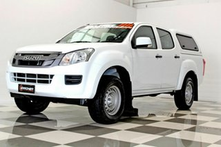 2013 Isuzu D-MAX TF MY12 SX HI-Ride (4x2) White 5 Speed Automatic Crew Cab Utility