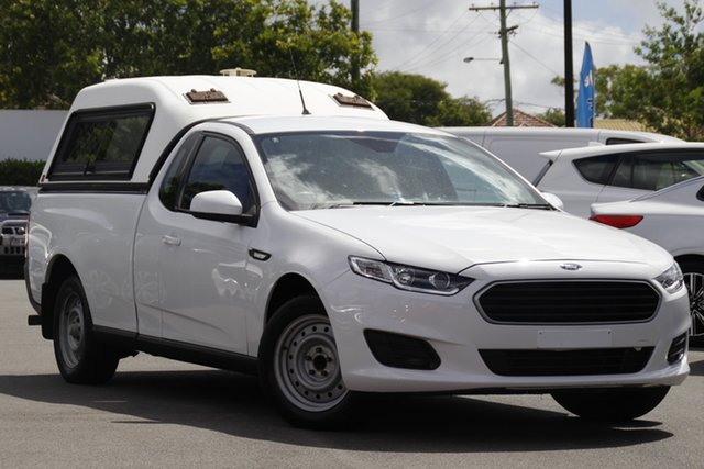 Used Ford Falcon FG X Ute Super Cab Mount Gravatt, 2016 Ford Falcon FG X Ute Super Cab White 6 Speed Sports Automatic Utility