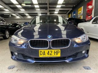 2013 BMW 3 Series F30 328i Blue Metallic Sports Automatic Sedan.
