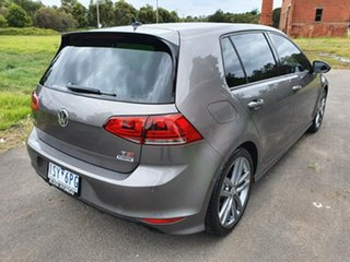2015 Volkswagen Golf 7 110TSI Highline Grey Sports Automatic Dual Clutch Hatchback