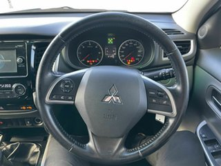 2015 Mitsubishi Triton MQ MY16 GLS (4x4) White 6 Speed Manual Dual Cab Utility