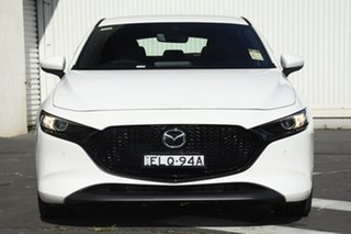 2020 Mazda 3 BP2HLA G25 SKYACTIV-Drive GT Snowflake White Pearl 6 Speed Sports Automatic Hatchback