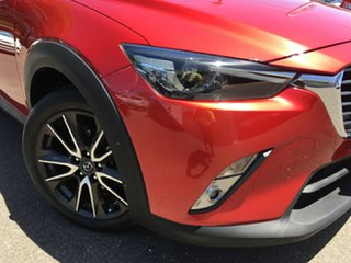 2015 Mazda CX-3 DK2W7A sTouring SKYACTIV-Drive Red/Black 6 Speed Sports Automatic Wagon.