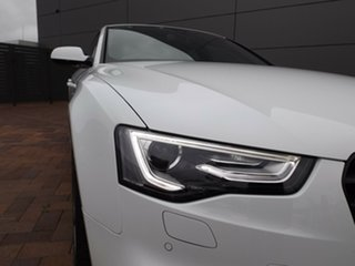 2015 Audi A5 8T MY16 Sportback S Tronic Quattro Ibis White 7 Speed Sports Automatic Dual Clutch
