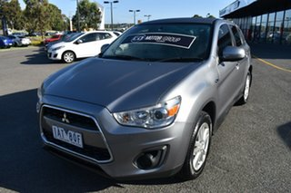 2013 Mitsubishi ASX XB MY13 2WD Grey 6 Speed Constant Variable Wagon