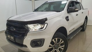 2018 Ford Ranger PX MkIII 2019.00MY Wildtrak White 10 Speed Sports Automatic Utility.
