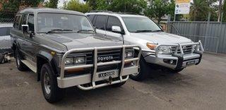 1988 Toyota Landcruiser Sahara (4x4) Grey 4 Speed Automatic 4x4 Wagon.